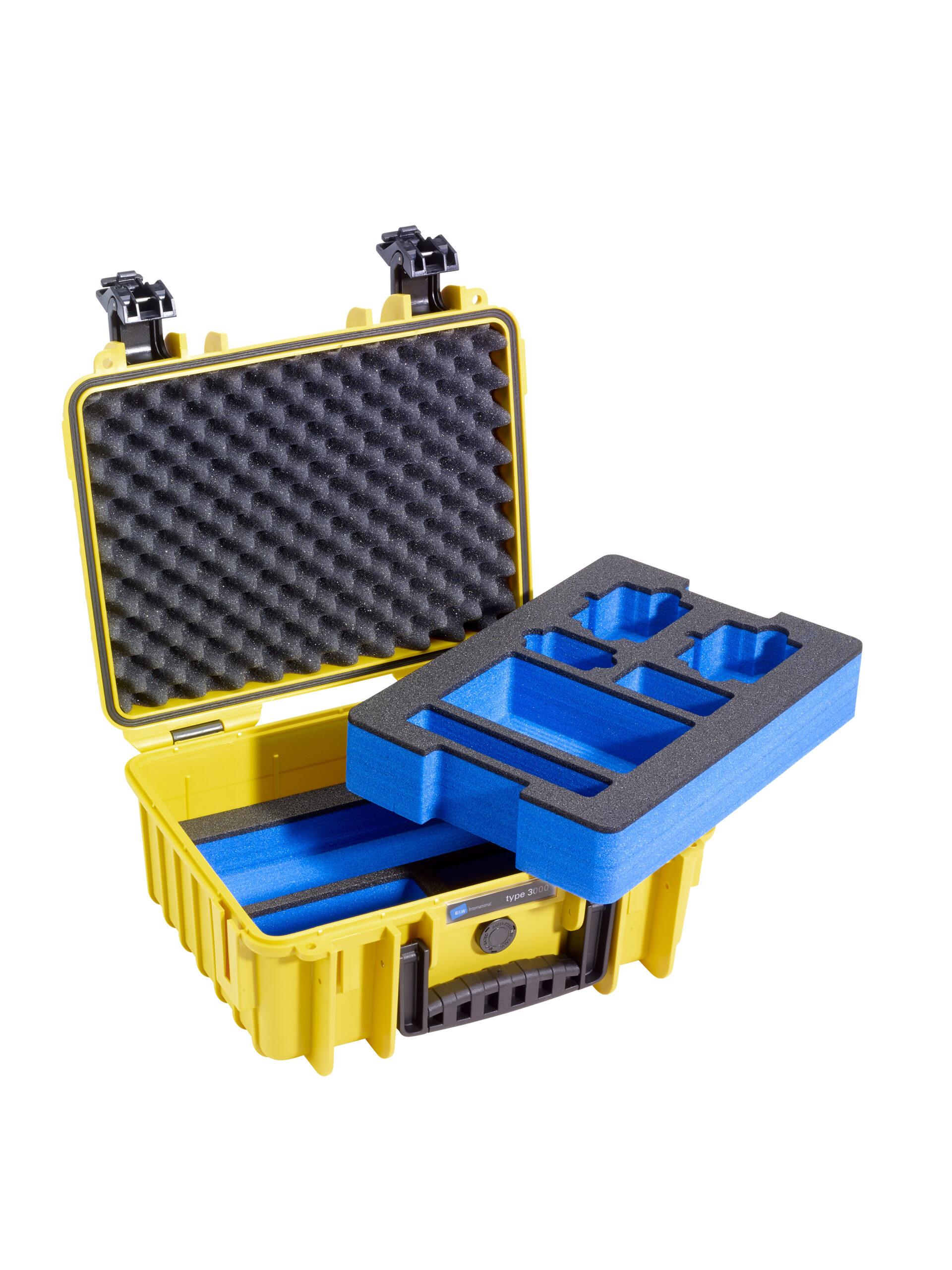 B&W International Outdoor Case 3000 GoPro Inlay