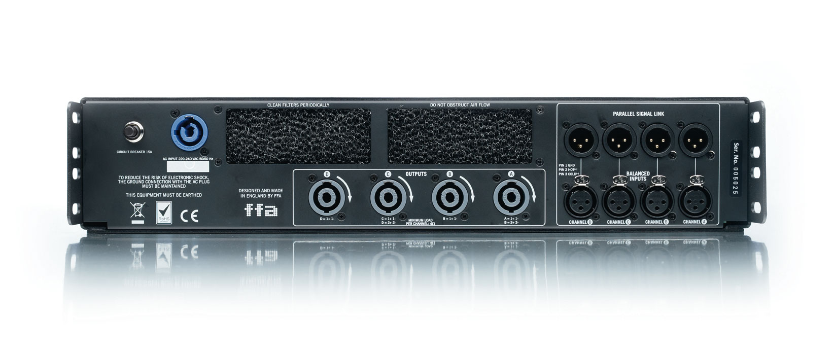 Full Fat Audio Versterker 6004