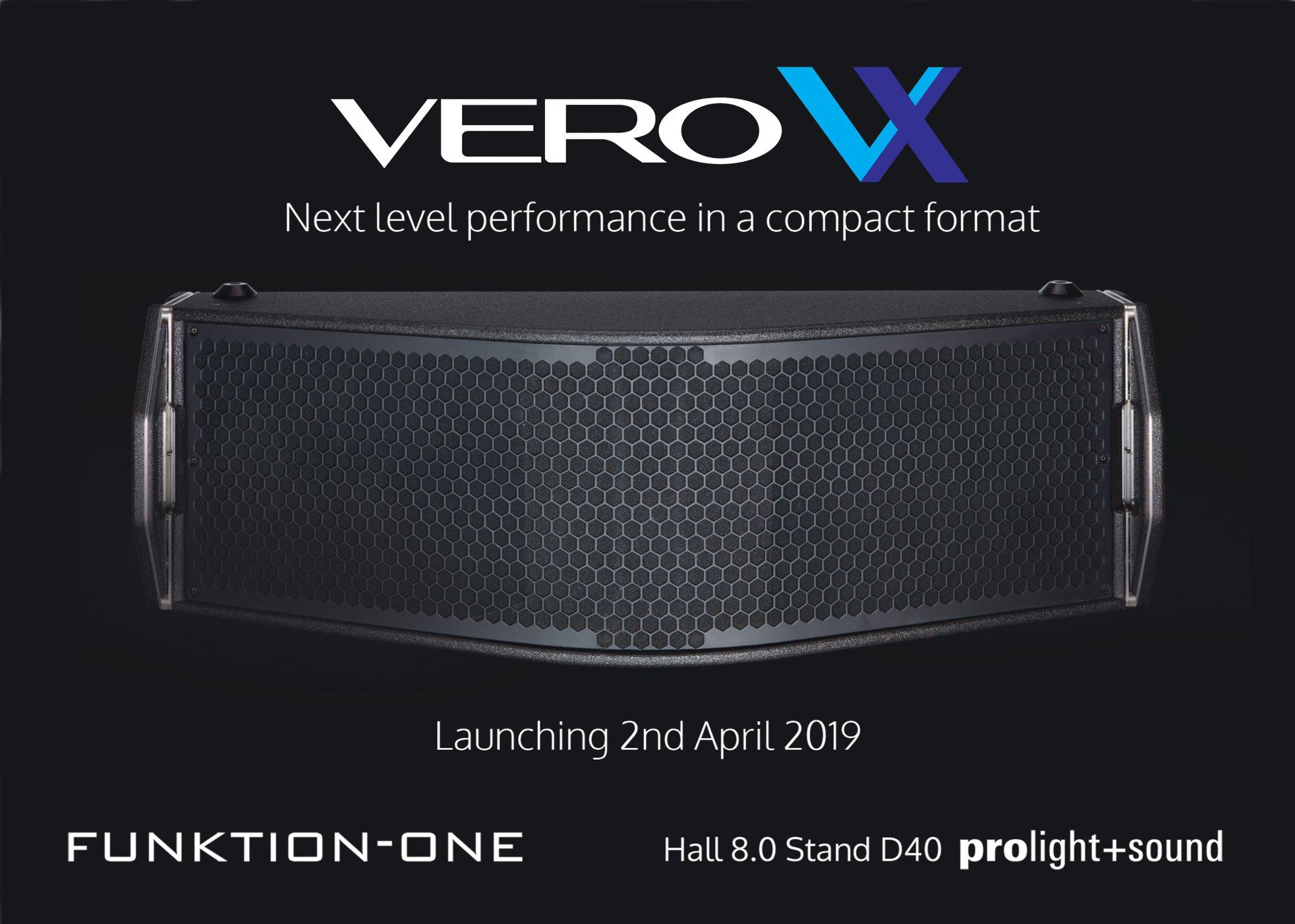 Vero VX Debuut Op De Prolight+Sound